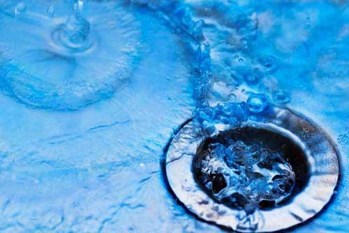 afvoer vuil water