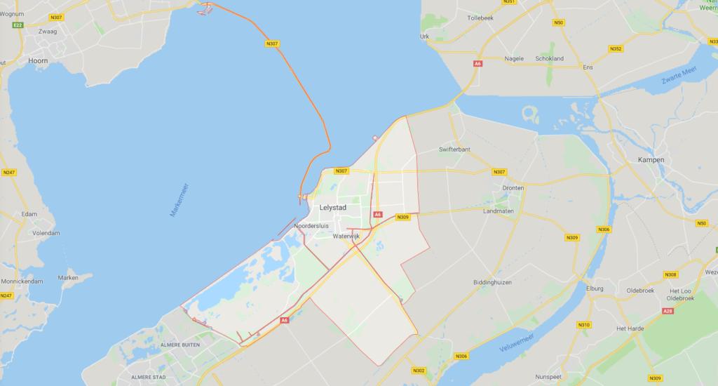 Werkgebied Lelystad